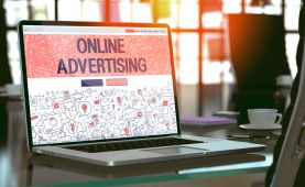 What catches the user's eye in the tangle of online advertised industries?