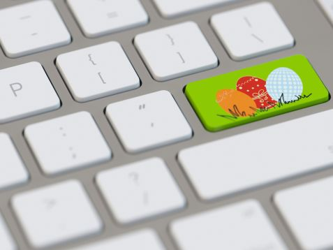 Easter online video ads