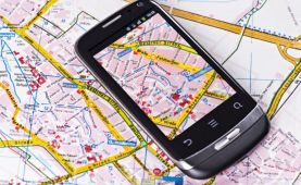 Virtual navigation replaces compass